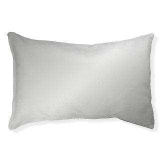 Metal Silver Look Pet Bed