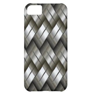 Metal Silver Pattern iPhone 5C Case