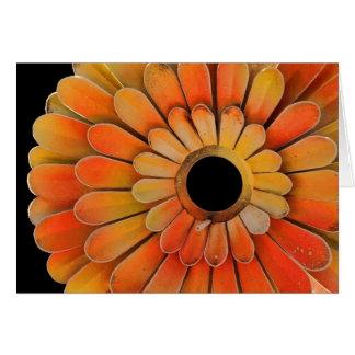 Metal Sunflower Card