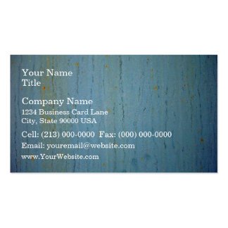 Metal Surface With Blue Paint And Rust Pack Of Standard Business Cards