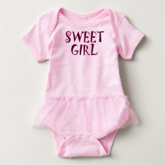 Metal Sweet Girl Baby Bodysuit