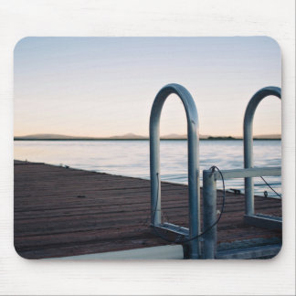 metal swimming safety fence mouse pad