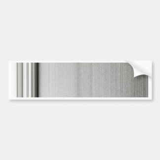 Metal texture bumper sticker