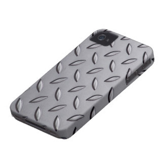 Metal Texture iPhone 4/4S Case-Mate Barely There