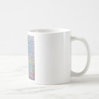 Metal Tree Basic White Mug