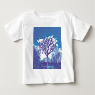 metal tree dull blue baby T-Shirt