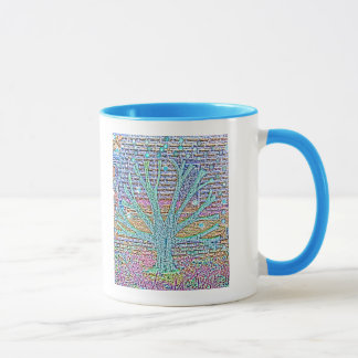 Metal Tree Mug