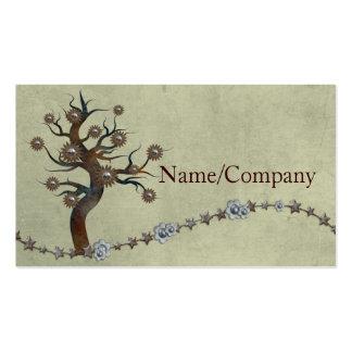Metal Tree Pack Of Standard Business Cards