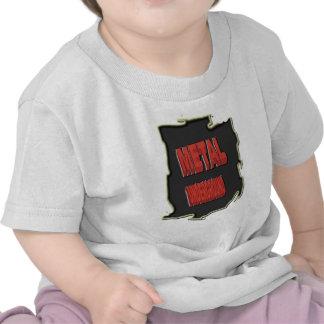 Metal Underground Black ethnic Background T Shirt