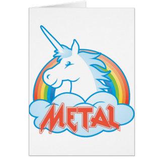 metal-unicorn card