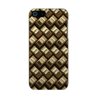 Metal weave golden basketwork incipio feather® shine iPhone 5 case