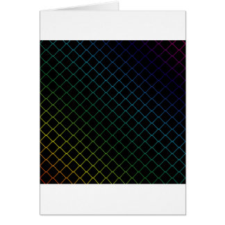 metal wire background greeting card