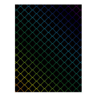 metal wire background postcard