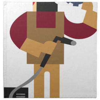 Metal Worker Napkin