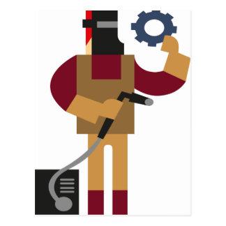 Metal Worker Postcard