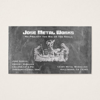 Metal Workers Business Card