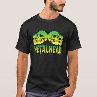 MetalHead Skulls Logo T-Shirt