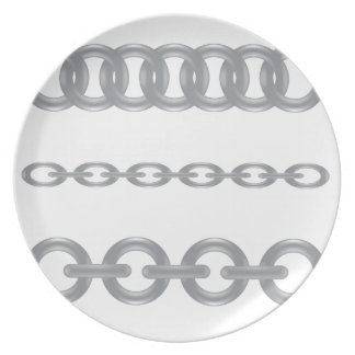 metalic  chain plate