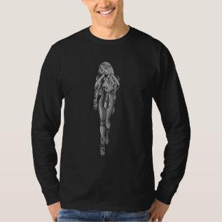 Metalic Goth Girl Anime T-Shirt