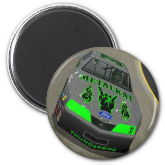 Metalkat Race Car Magnet