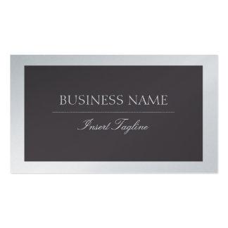 Metall Elegante Pack Of Standard Business Cards