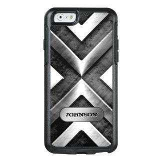 Metallic Armor with Name Plate Military Pattern OtterBox iPhone 6/6s Case