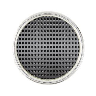 Metallic Background Lapel Pin