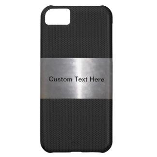 Metallic Black iPhone 5C Case