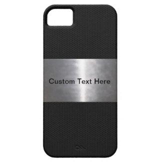 Metallic Black iPhone 5 Cases