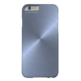 Metallic Blue Barely There iPhone 6 Case