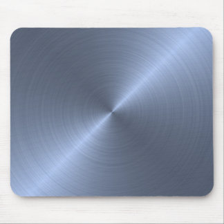Metallic Blue Mouse Pad
