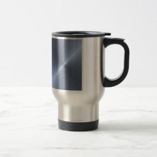 Metallic Blue Mugs