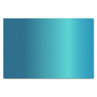 Metallic Blue Tissue Paper