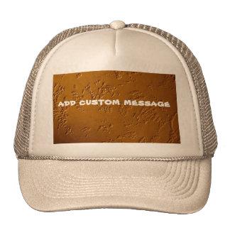 Metallic Bronze Cap
