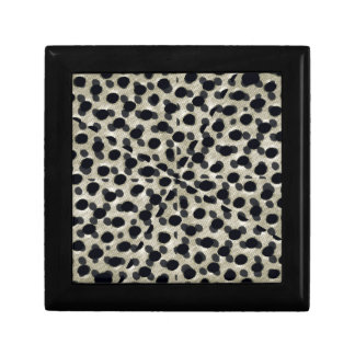 Metallic Camouflage Small Square Gift Box