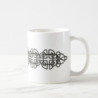 Metallic Celtic Knot Strip Mug