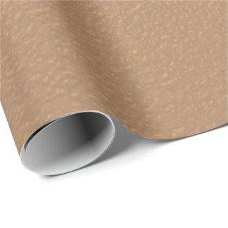 Metallic Copper-Colored Wrapping Paper