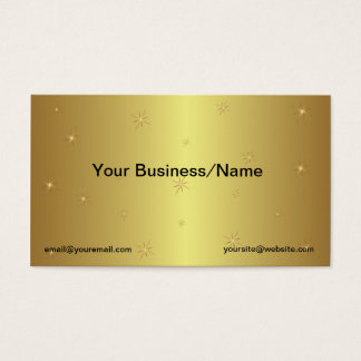 900 Gold Star Business Cards and Gold Star Business Card