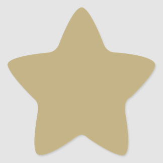 Metallic Gold. Gifts For Kids To Collect And Trade Star Sticker