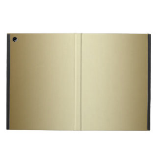 METALLIC GOLD PRINTED PHOTO EFFECT CASE FOR iPad AIR