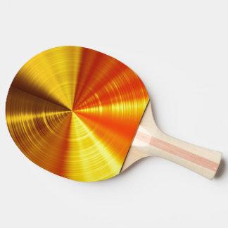 Metallic Gold Spiral