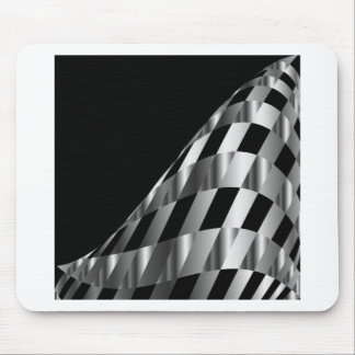 metallic grid background mouse pad
