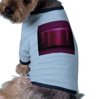 Metallic,hot pink,modern,shimmer,science fiction, ringer dog shirt