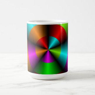 Metallic Look Abstract 3D Design Mug