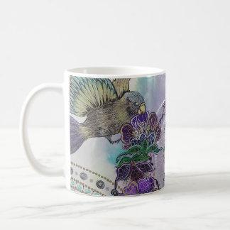 Metallic love coffee mug