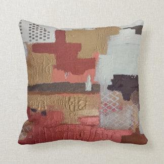 Metallic Love Throw Cushion