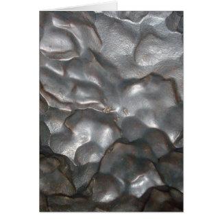 Metallic Meteorite Rock Print, Card