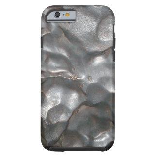 Metallic Meteorite Rock Print, Tough iPhone 6 Case