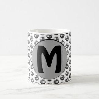 Metallic Monogram Coffee Mug