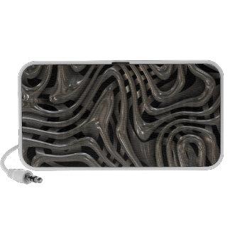 Metallic Ooze - Cool Liquid Metal Look Pattern Speaker System